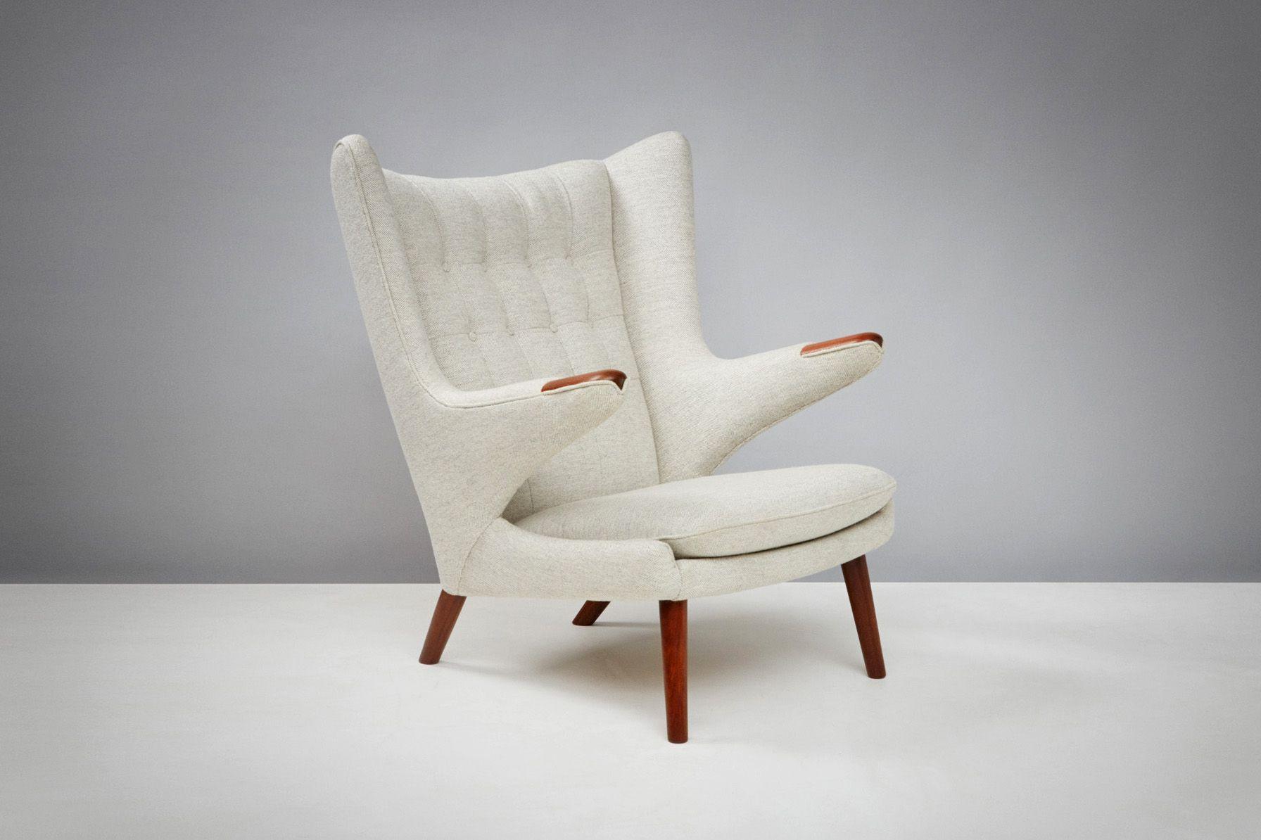 AP 19 Papa Bear Chair By Hans J. Wegner For A.P. Stolen, 1950s