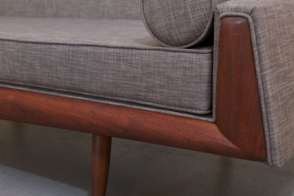 Vintage Sofa Daybed By Adrian Pearsall For Craft