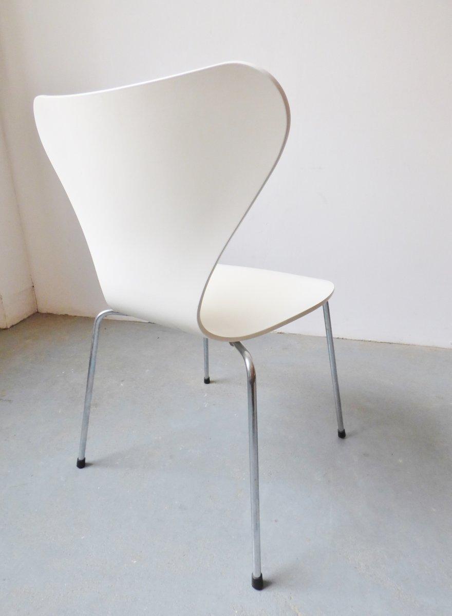 3107 st hle von arne jacobsen f r fritz hansen 1984 4er. Black Bedroom Furniture Sets. Home Design Ideas