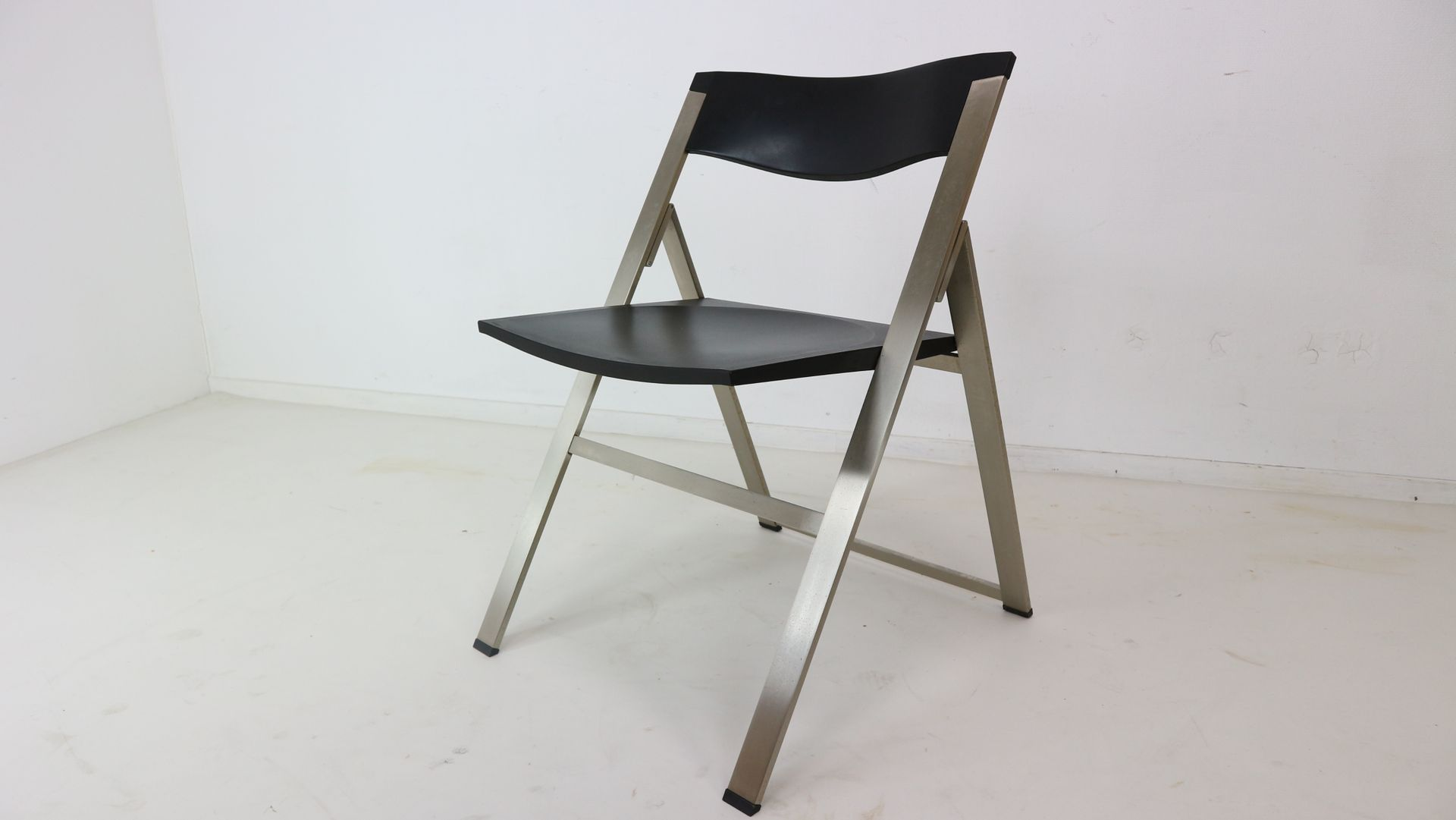 P08 Folding Chairs by Justus Kolberg for Tecno 1991 Set of 4 for
