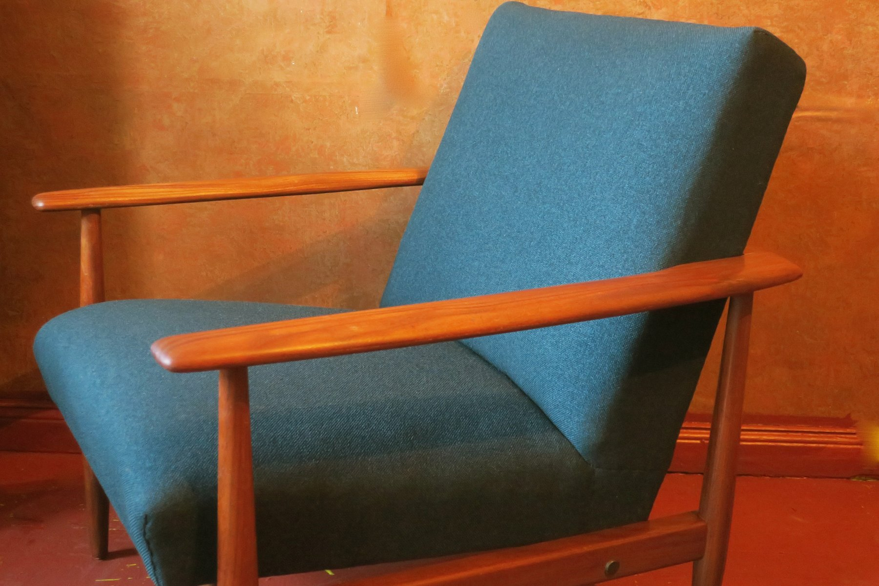 skandinavischer mid century sessel 1960er bei pamono kaufen. Black Bedroom Furniture Sets. Home Design Ideas