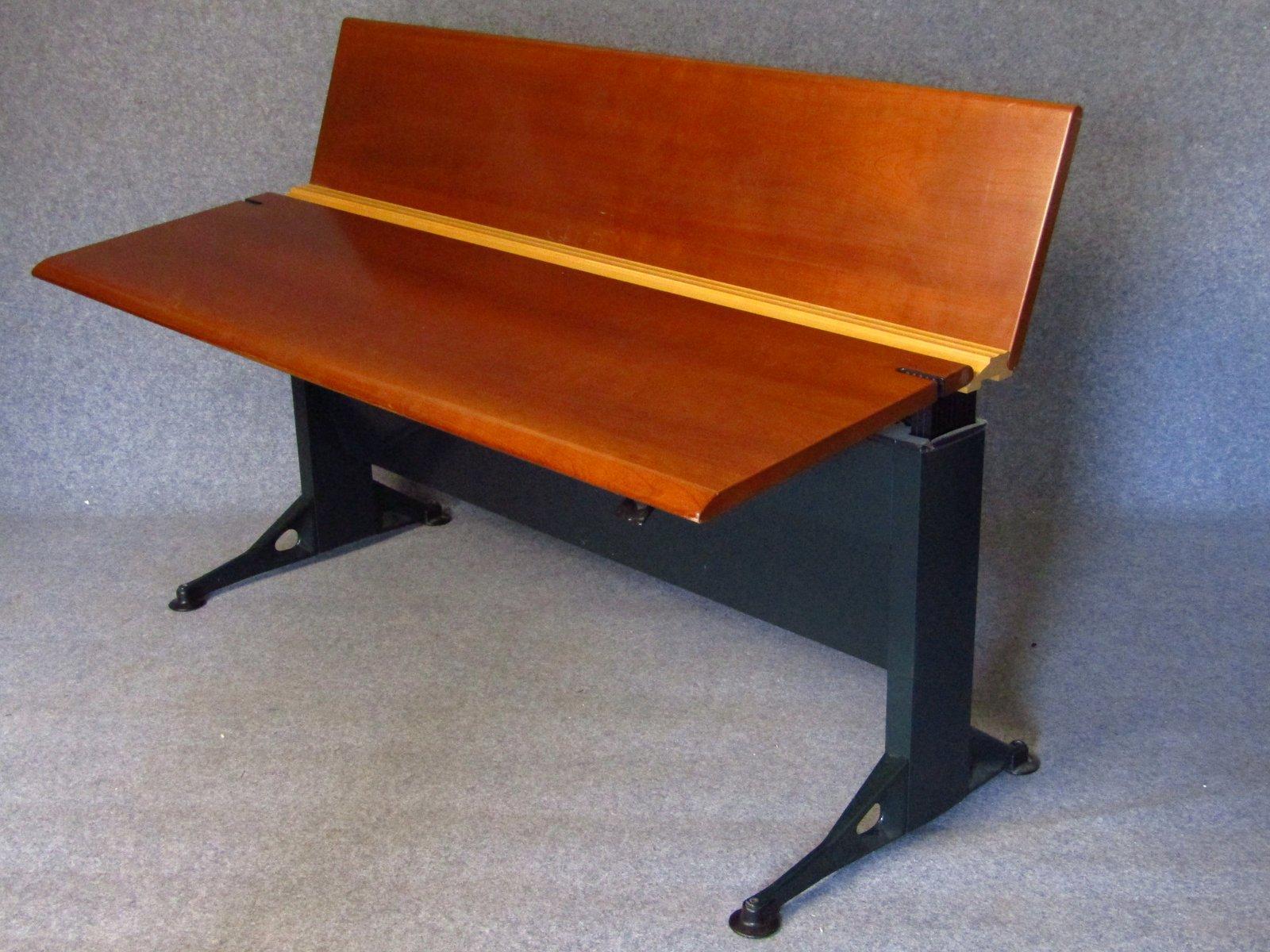 Beech Veneered Adjule Desk By Geoff Hollington For Herman Miller 1970s