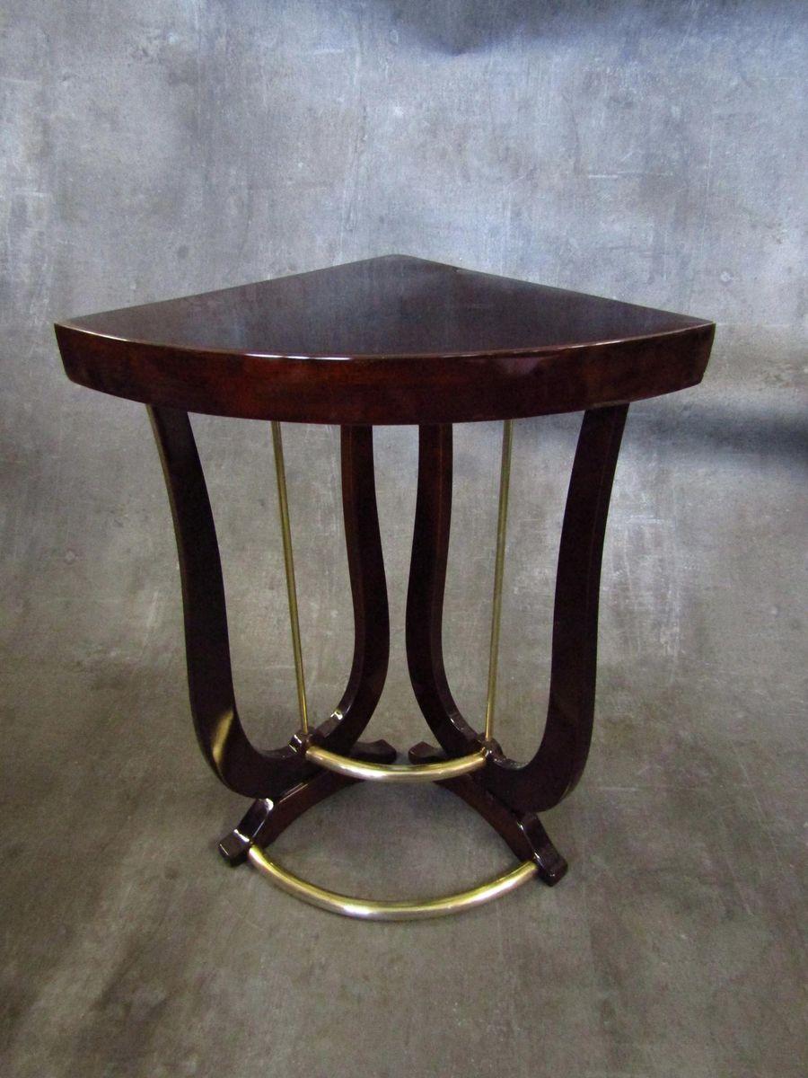 art d co beistelltisch aus palisanderholz 1930er bei pamono kaufen. Black Bedroom Furniture Sets. Home Design Ideas