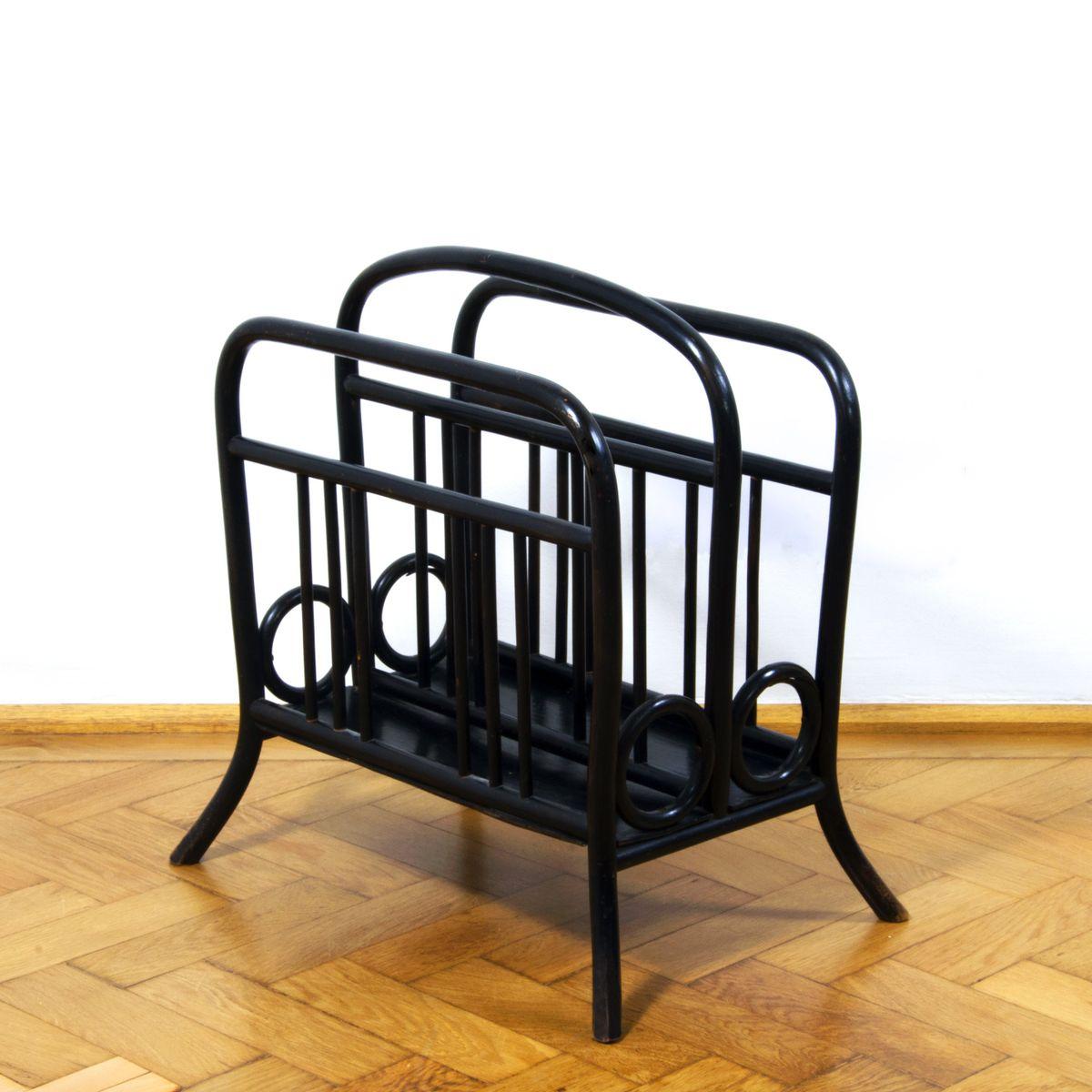 zeitschriftenst nder des modells 33 aus bugholz von thonet 1900er bei pamono kaufen. Black Bedroom Furniture Sets. Home Design Ideas