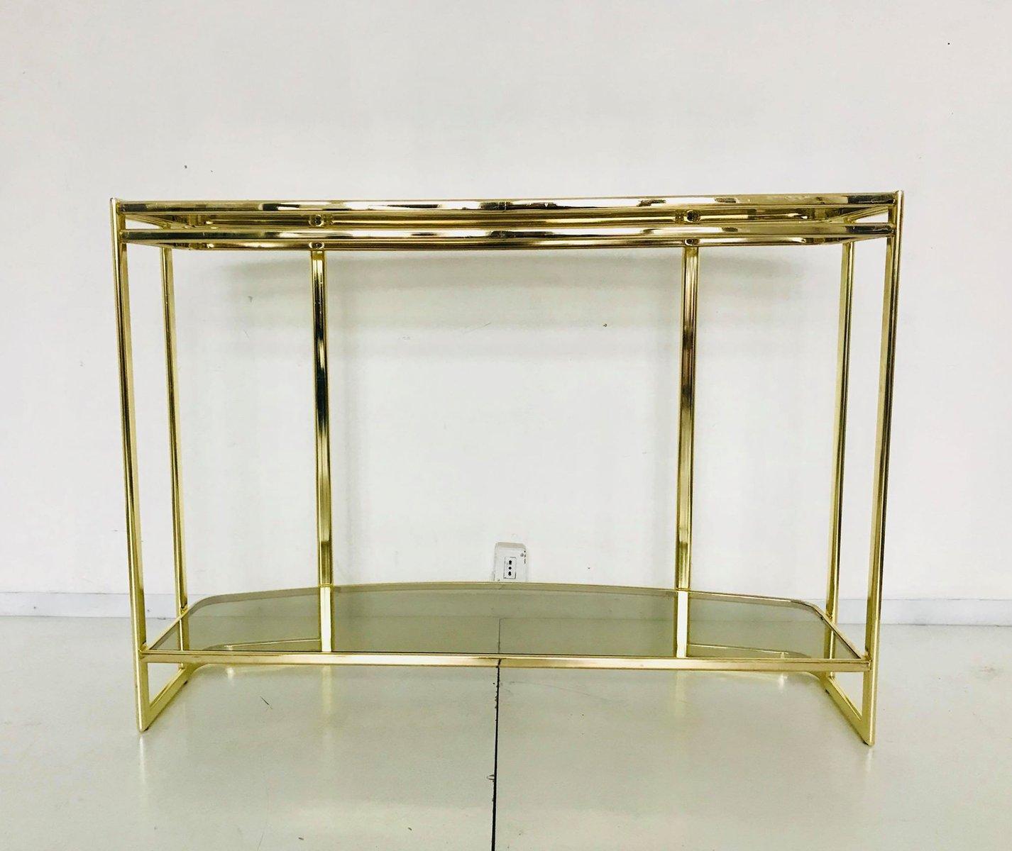 table console et miroir italie 1970s en vente sur pamono. Black Bedroom Furniture Sets. Home Design Ideas