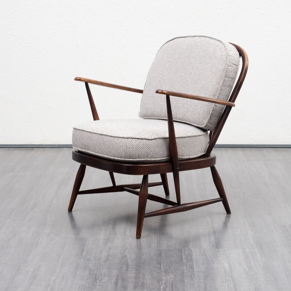 Windsor Armchair By Lucian Ercolani For Ercol 1950s For