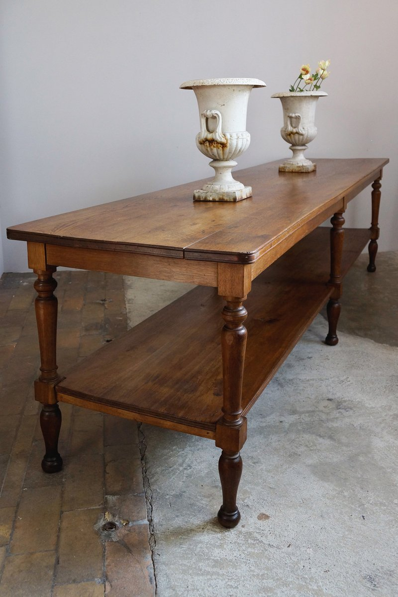 antique french work table for sale at pamono. Black Bedroom Furniture Sets. Home Design Ideas