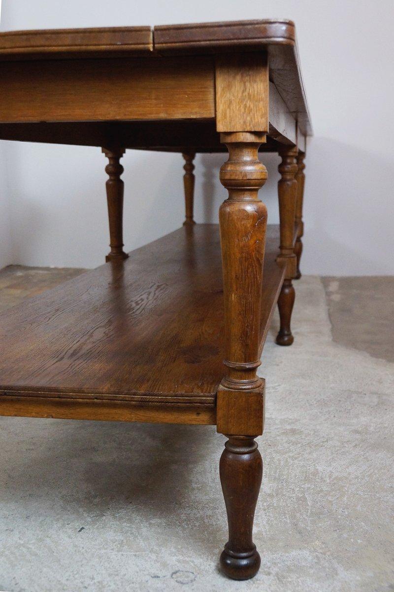 antiker franz sischer werktisch bei pamono kaufen. Black Bedroom Furniture Sets. Home Design Ideas