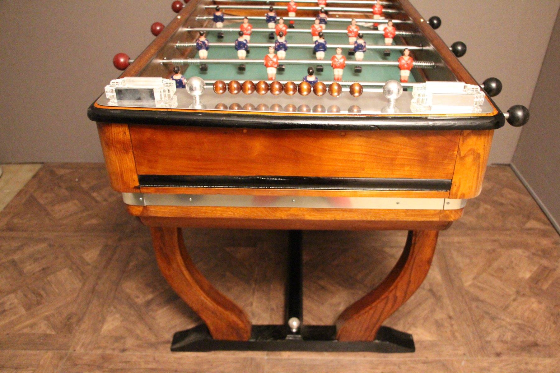 vintage french caf foosball table for sale at pamono. Black Bedroom Furniture Sets. Home Design Ideas