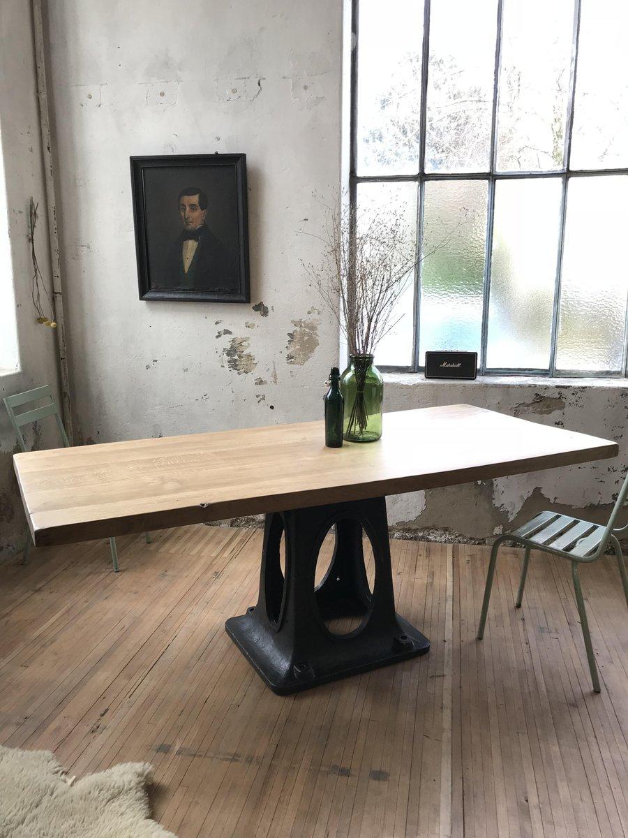 Vintage Industrial Dining Table