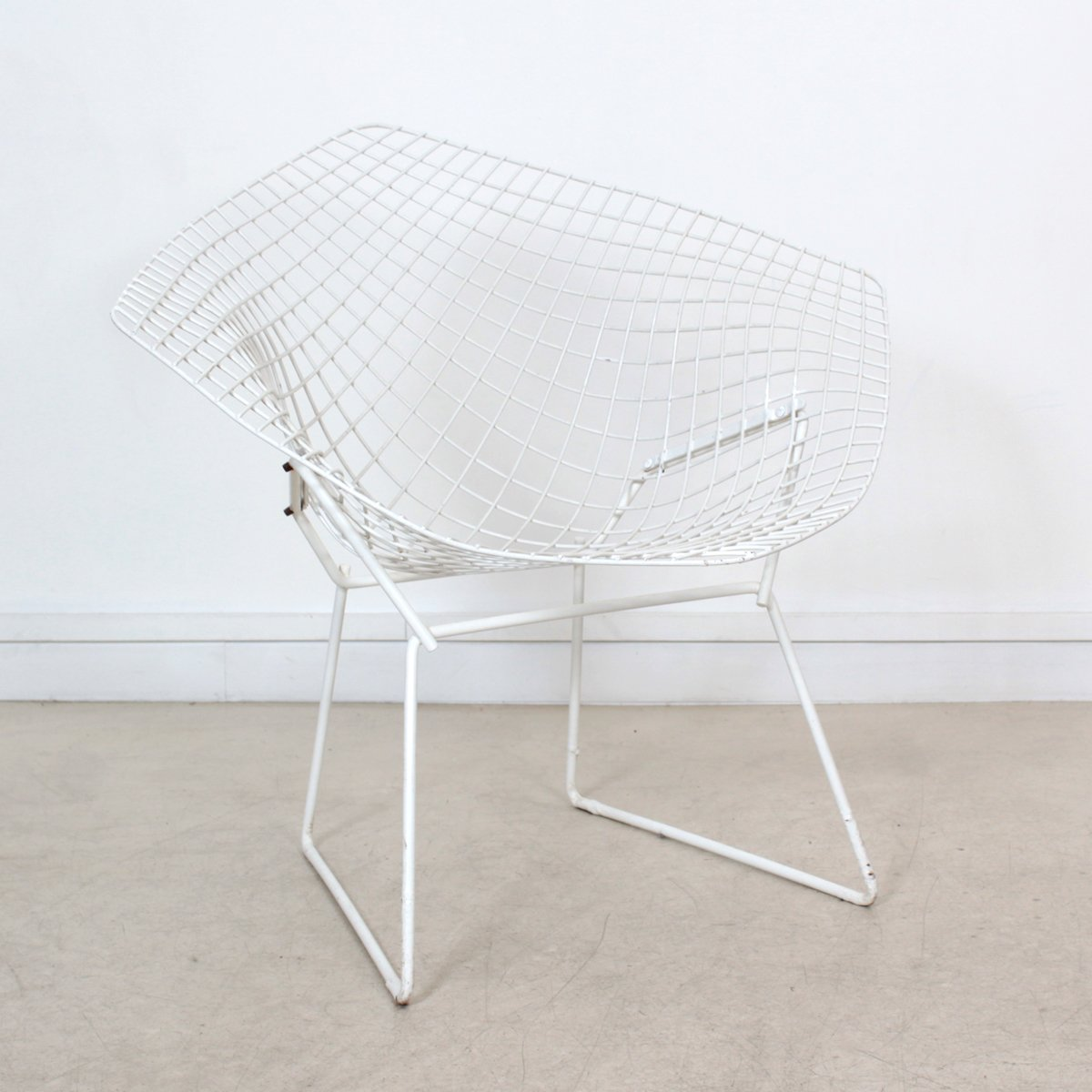 Vintage Diamond Chair by Harry Bertoia for sale at Pamono