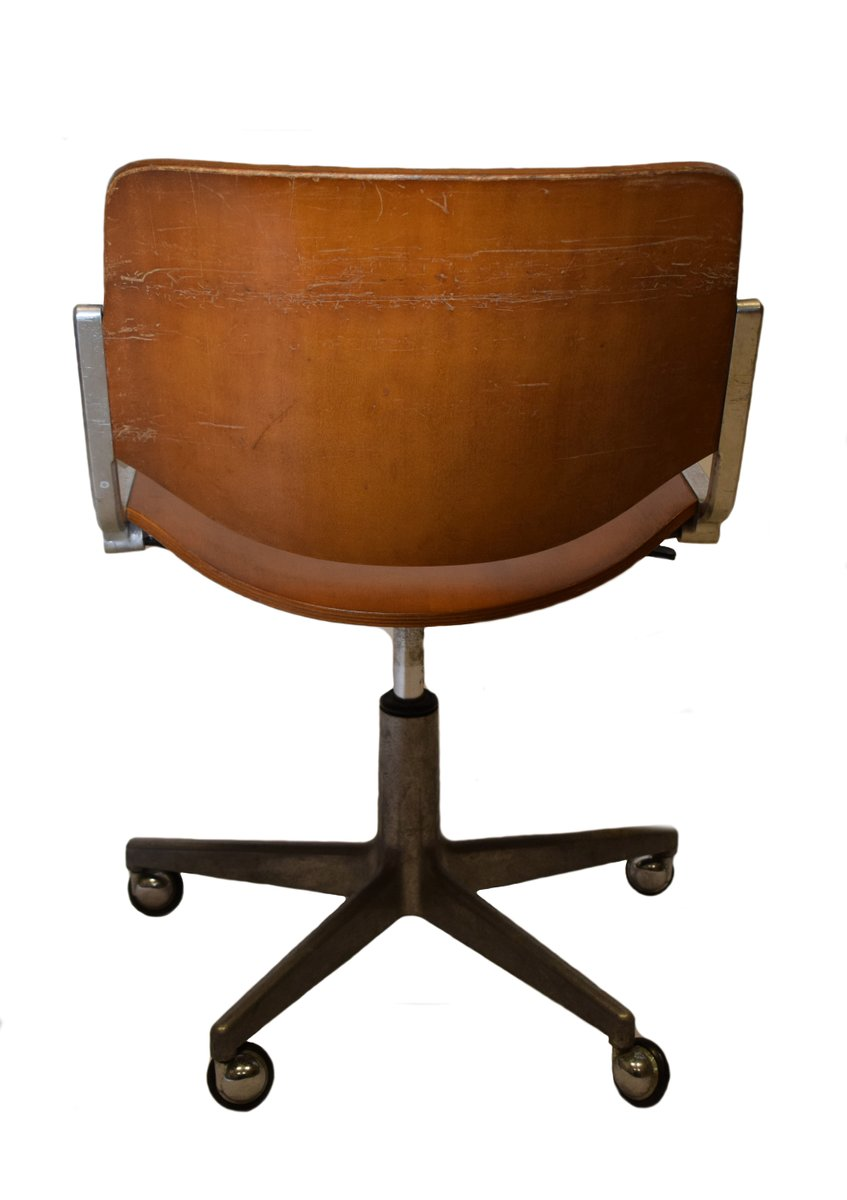 Vintage Office Chair By Giancarlo Piretti For Anonima