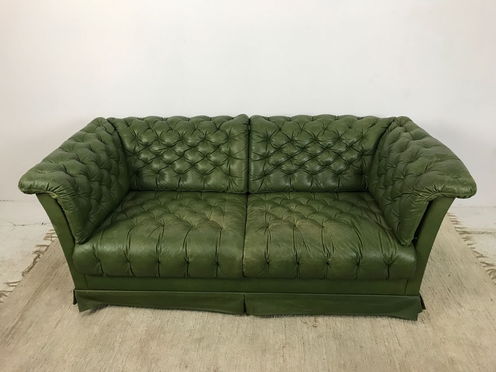 Charming Leather Sofa From Dux, 1960s