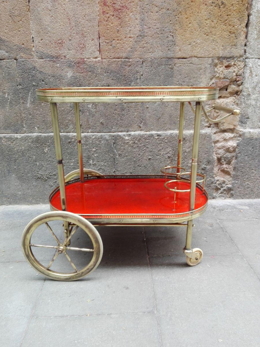 vintage servierwagen bei pamono kaufen. Black Bedroom Furniture Sets. Home Design Ideas