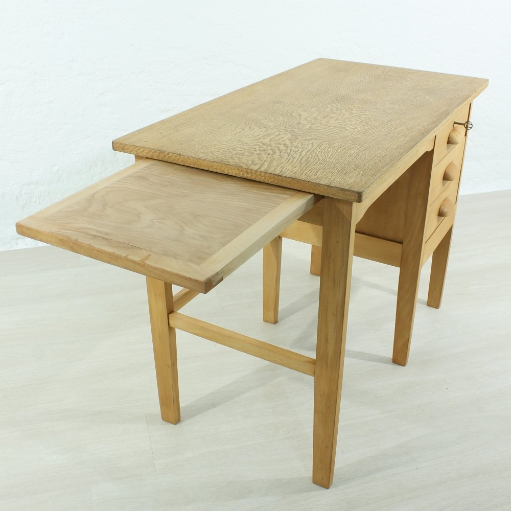 petit bureau vintage 1940s en vente sur pamono. Black Bedroom Furniture Sets. Home Design Ideas