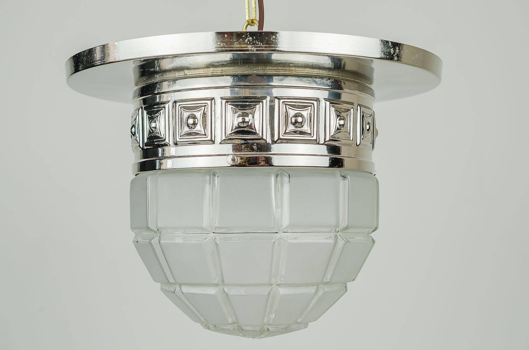 Art deco ceiling lamp 1920s for sale at pamono art deco ceiling lamp 1920s mozeypictures Images