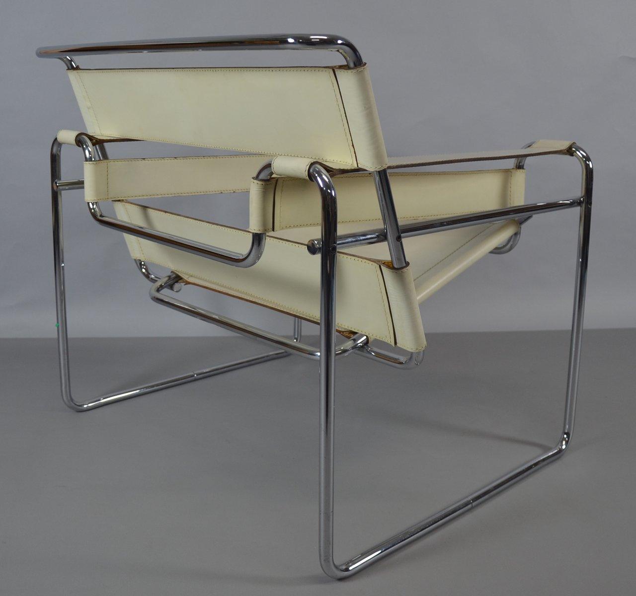 Wassily stuhl von marcel breuer f r knoll inc 1980er bei for Wassily stuhl design analyse