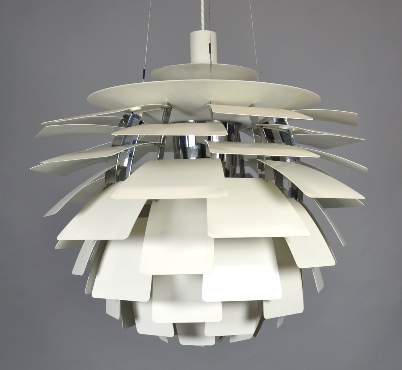 Model ph artichoke ceiling light by poul henningsen for louis model ph artichoke ceiling light by poul henningsen for louis poulsen 1950s aloadofball Image collections