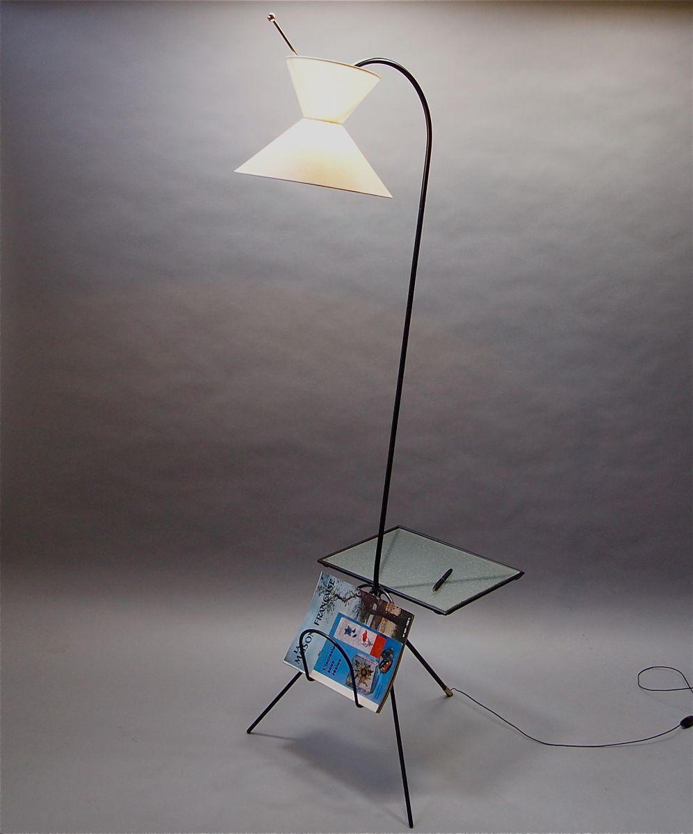 French floor lamp 1950s for sale at pamono for Floor in french translation