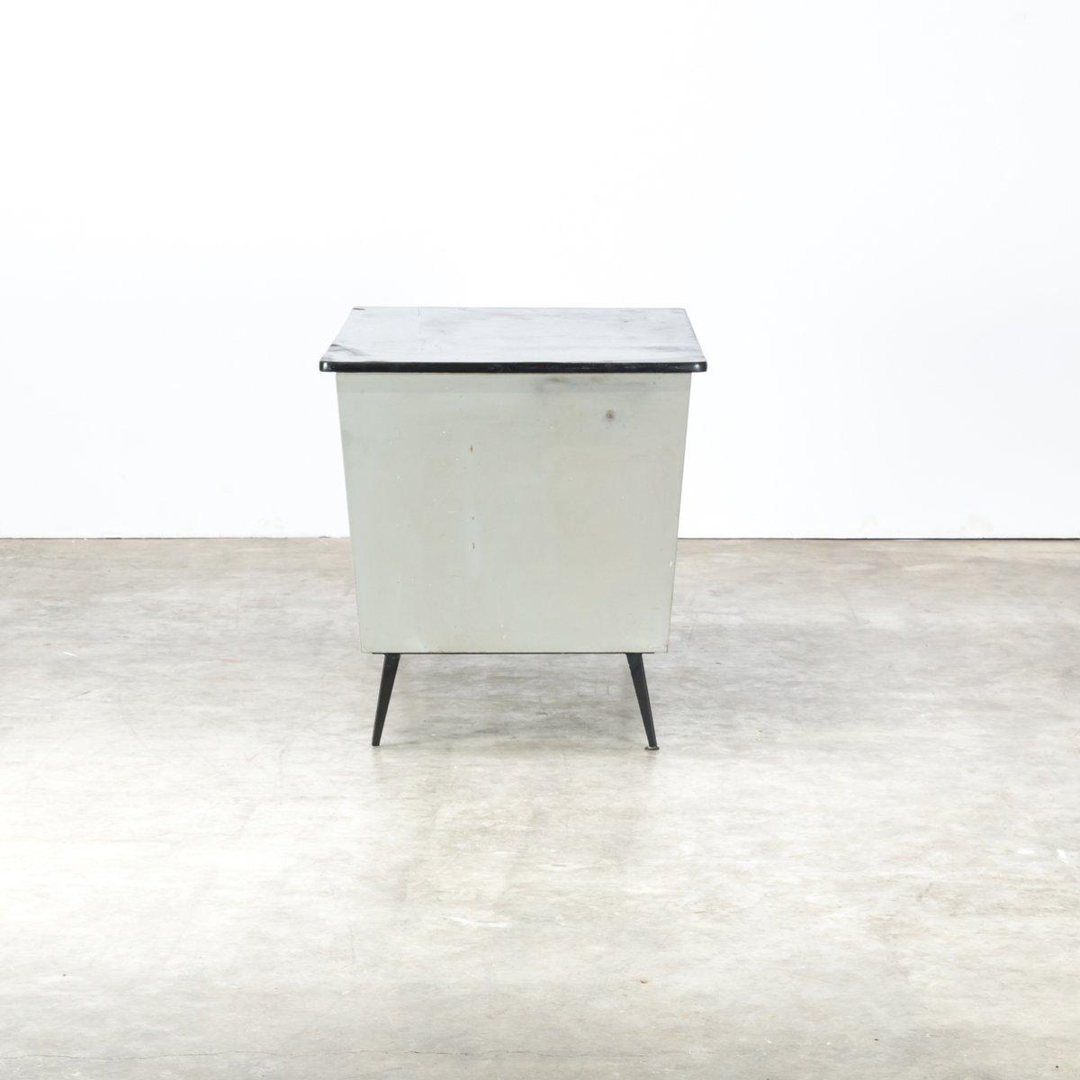 vintage metall schreibtisch 1970er bei pamono kaufen. Black Bedroom Furniture Sets. Home Design Ideas
