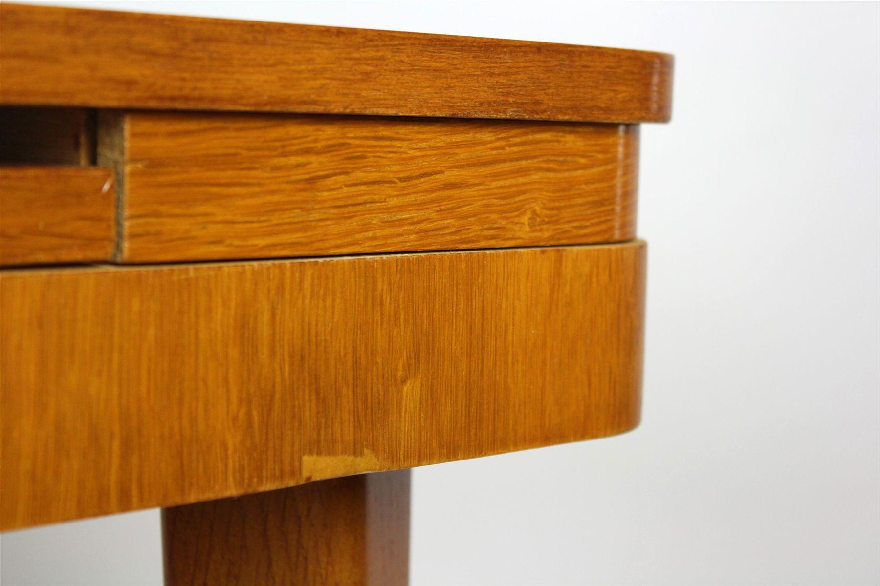 Viereckiger klappbarer esstisch von jitona 1960er bei for Klappbarer esstisch