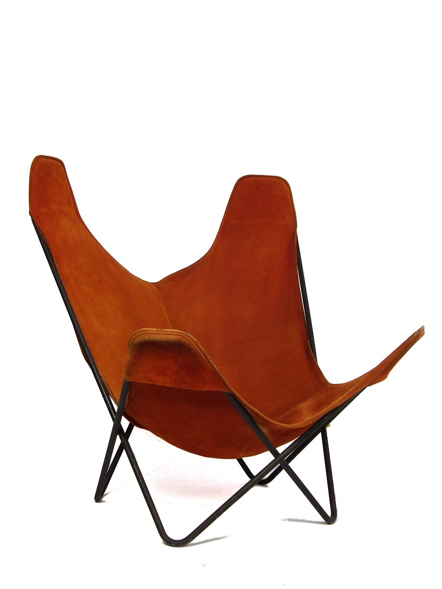 Vintage Hardoy Chair or Butterfly Chair by Jorge Hardoy-Ferrari for ...