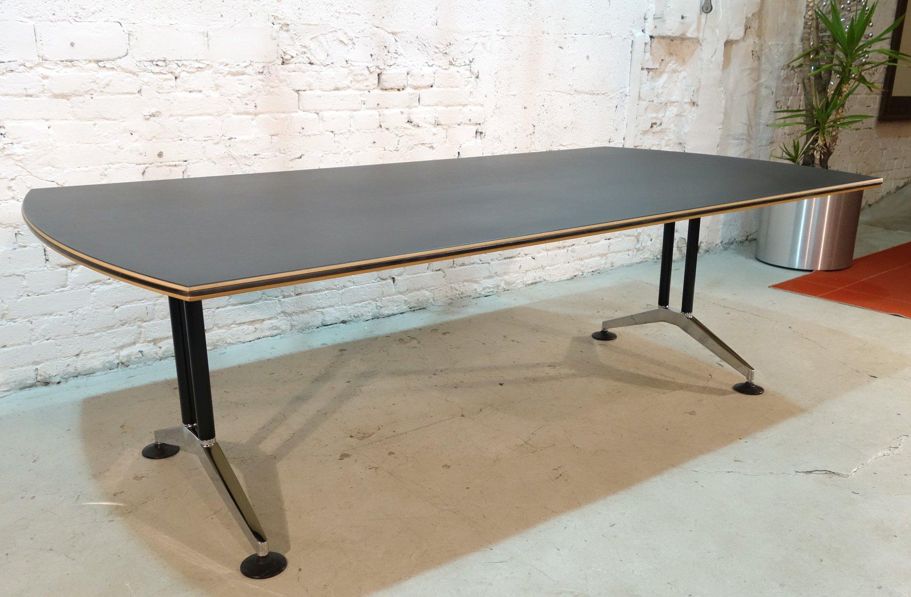 gro er tisch von andreas st riko f r wilkhahn 1990er bei pamono kaufen. Black Bedroom Furniture Sets. Home Design Ideas