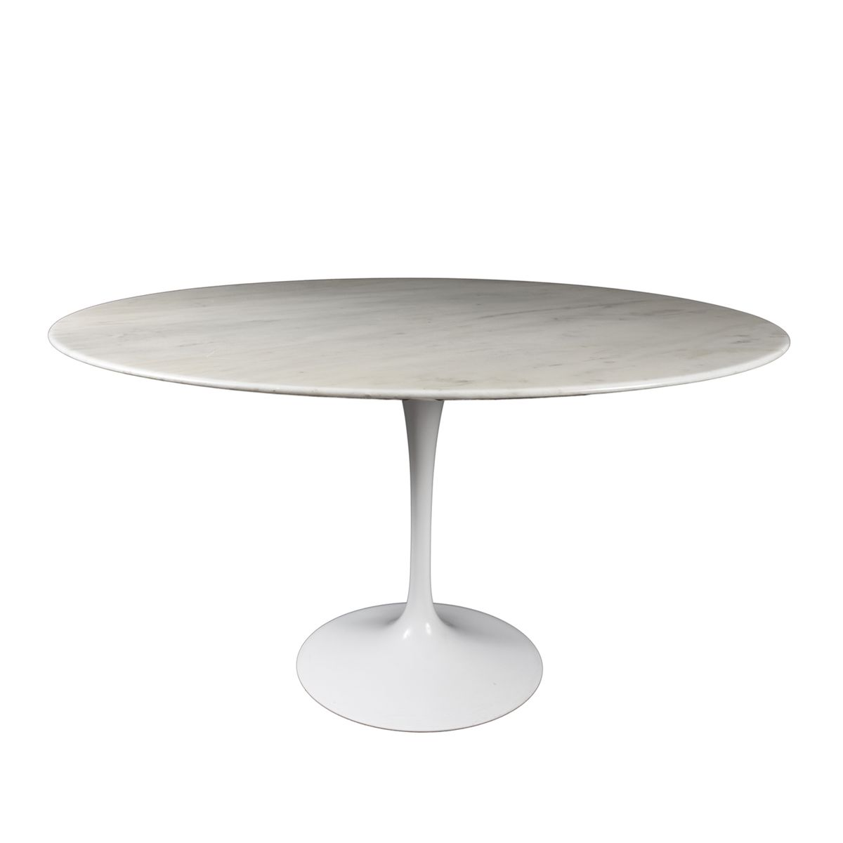 round tulip dining table in carrara marble by eero saarinen for knoll international 1970s for. Black Bedroom Furniture Sets. Home Design Ideas