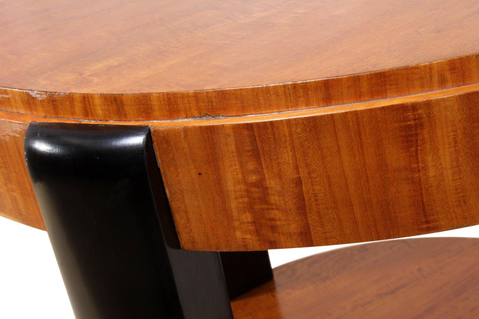 art deco tisch bei pamono kaufen. Black Bedroom Furniture Sets. Home Design Ideas