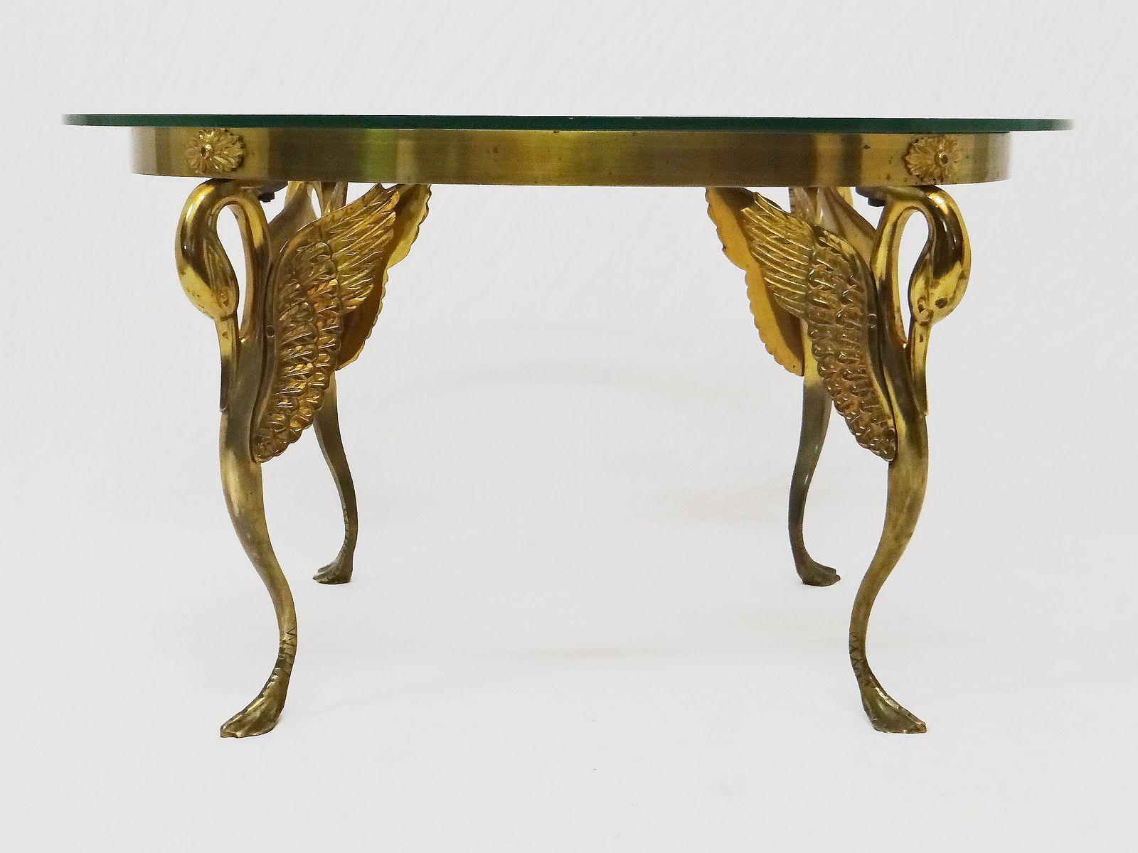Vintage Art Deco Bronze Swan Coffee Table 9. $2,425.00. Price Per Piece