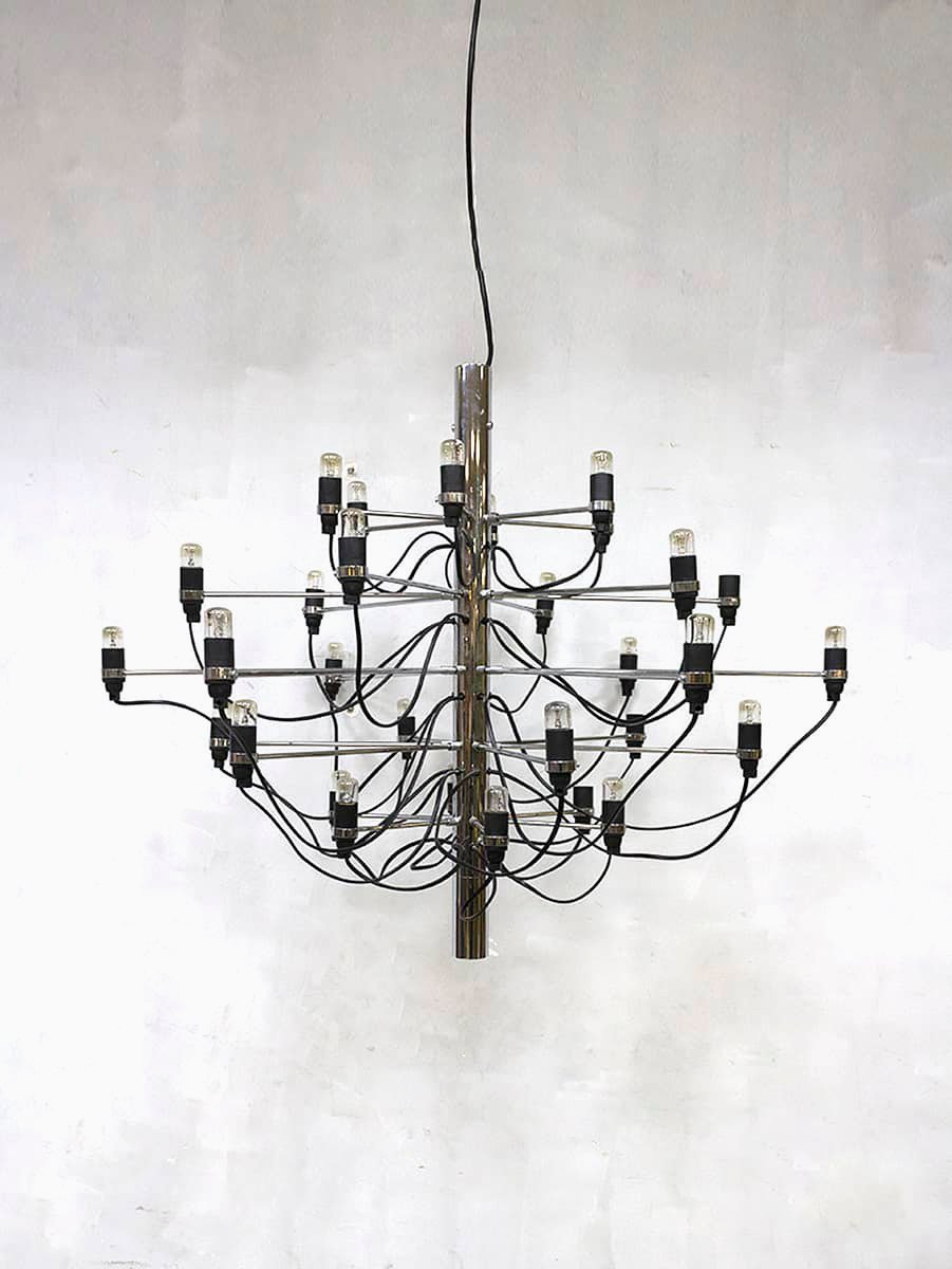 Vintage chandelier by gino sarfatti for flos for sale at pamono previous aloadofball Choice Image