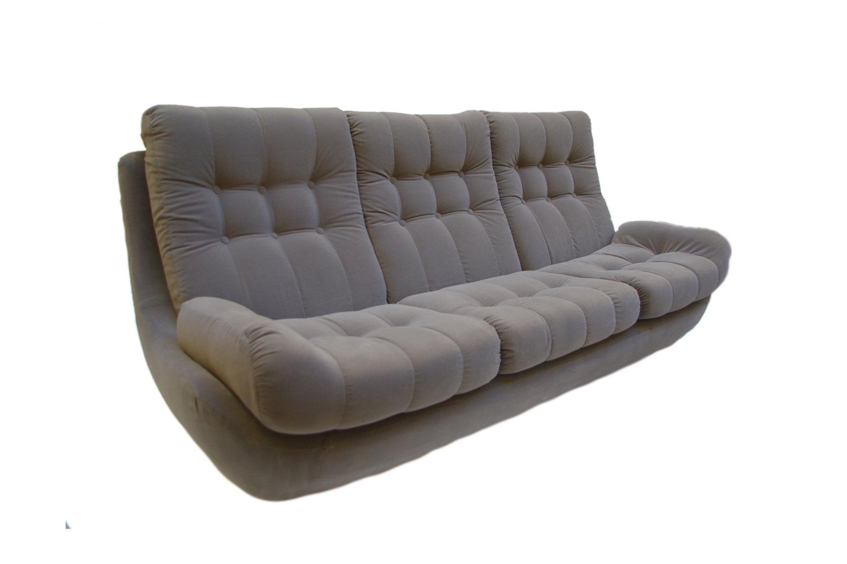Vintage Velvet Sofa 1970s For Sale At Pamono