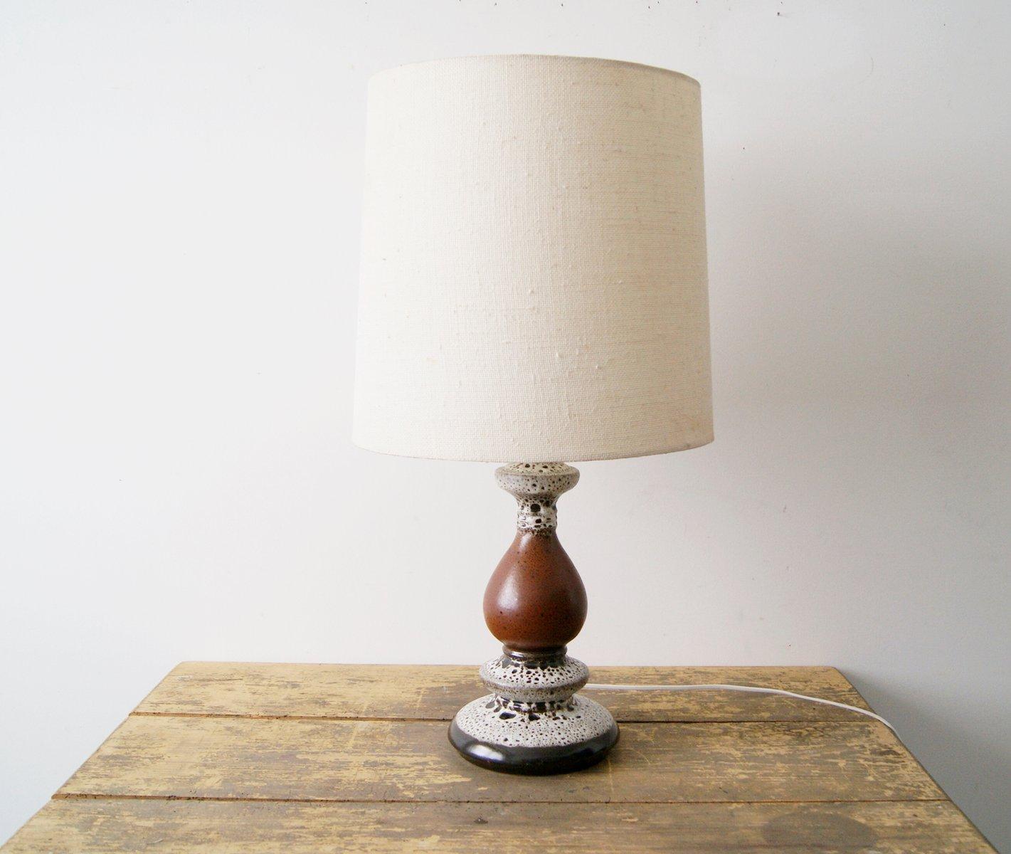 Ceramic fat lava table lamp from hustadt 1970s for sale at pamono ceramic fat lava table lamp from hustadt 1970s aloadofball Gallery