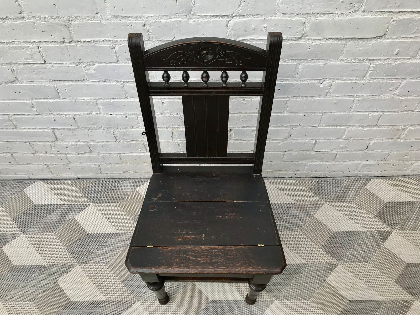 Antique Metamorphic Folding Library Ladder Chair 10 742 00 Per Piece