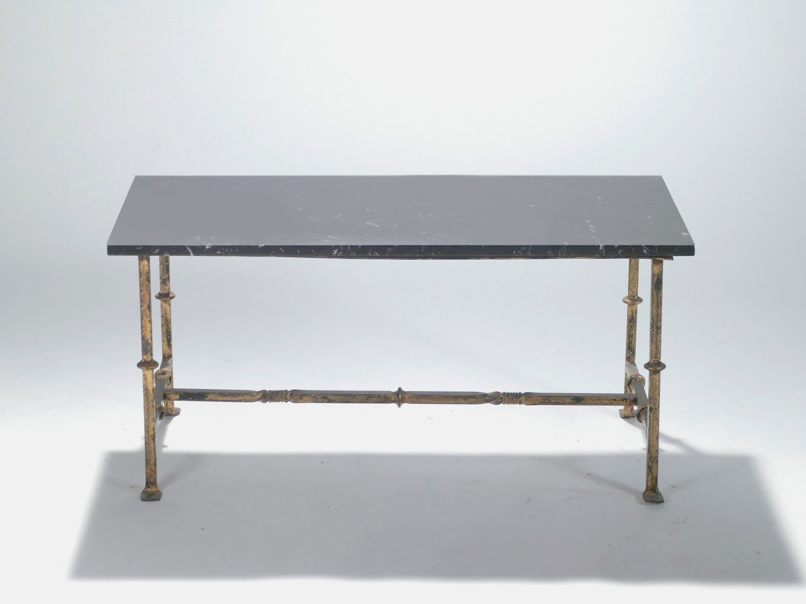 French wrought iron coffee table 1940s for sale at pamono for Wrought iron coffee table for sale