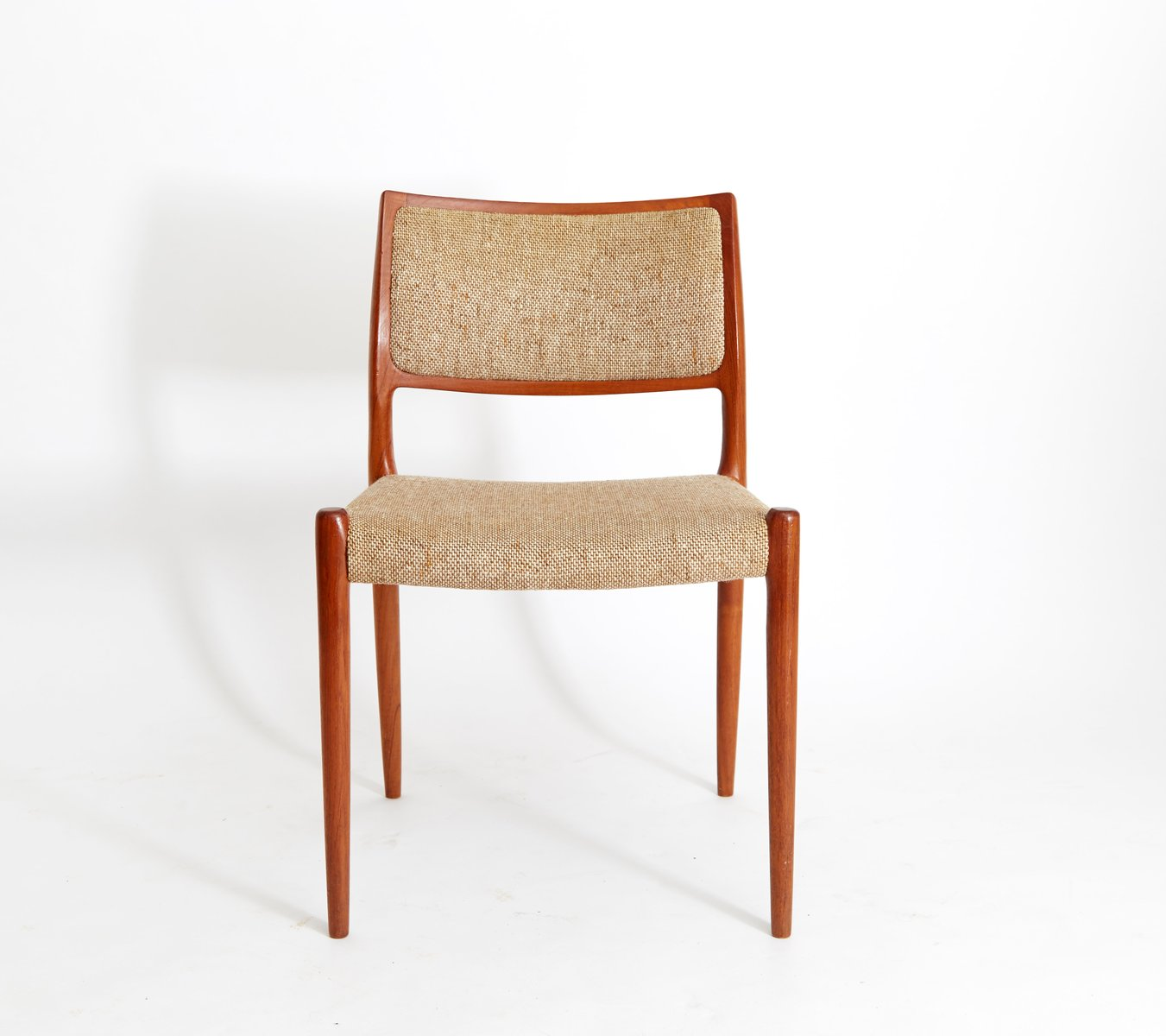 Vintage Moller Dining Chairs ~ Vintage danish teak dining chairs by niels otto møller
