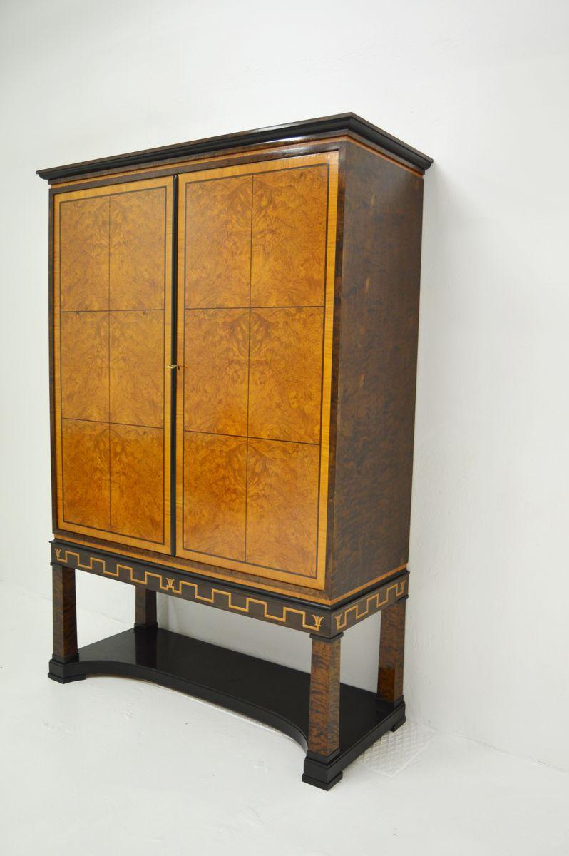 schwedischer art deco schrank von v sterviks m belsnickarskola 1940er bei pamono kaufen. Black Bedroom Furniture Sets. Home Design Ideas