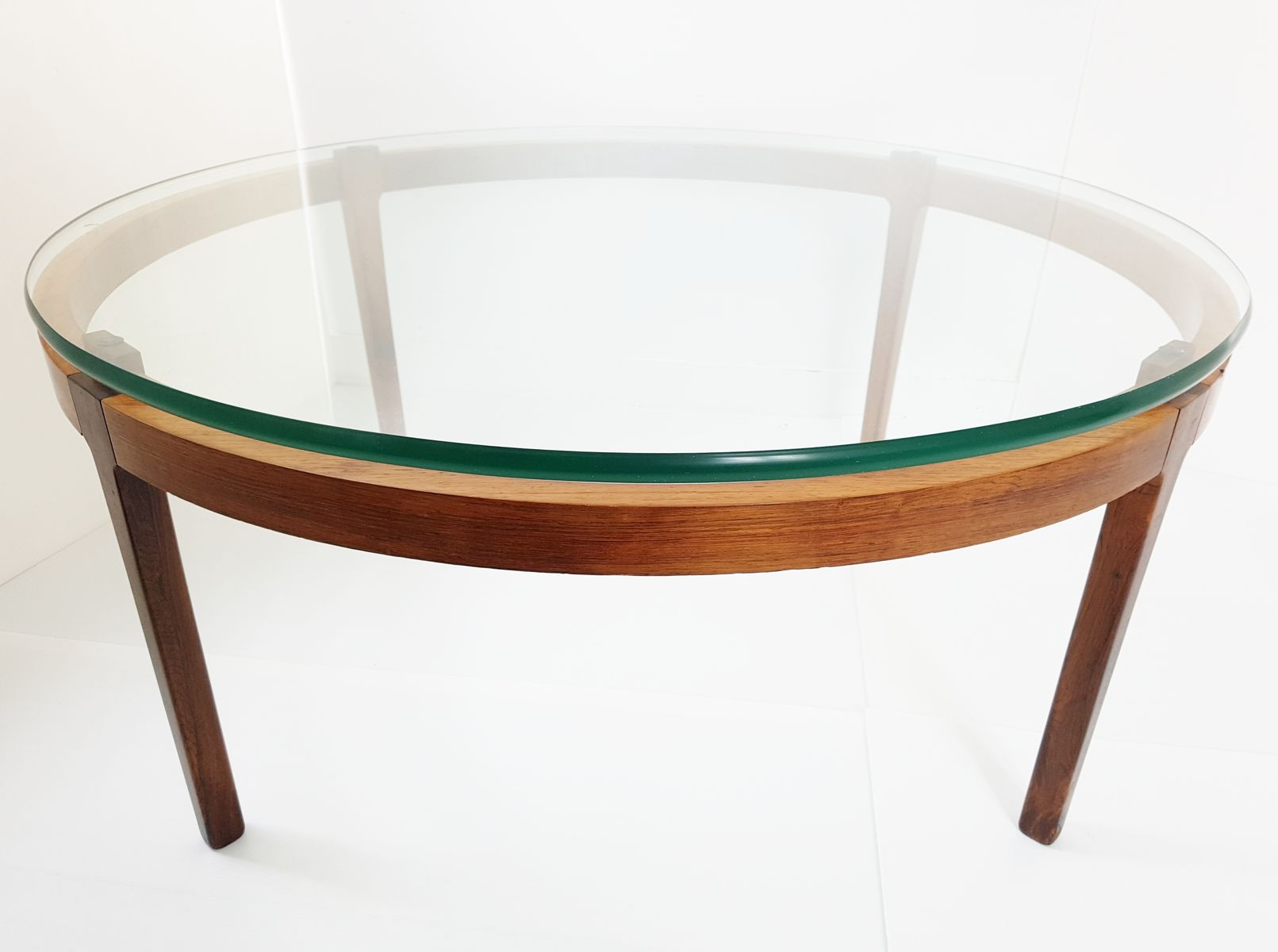 Mid century scandinavian teak rosewood round coffee table 1960s 11 1 20000 €