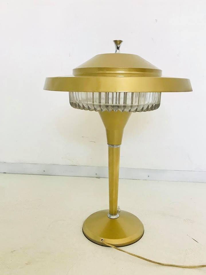 Lampada da tavolo vintage in alluminio di artemide italia - Lampada da tavolo vintage ...