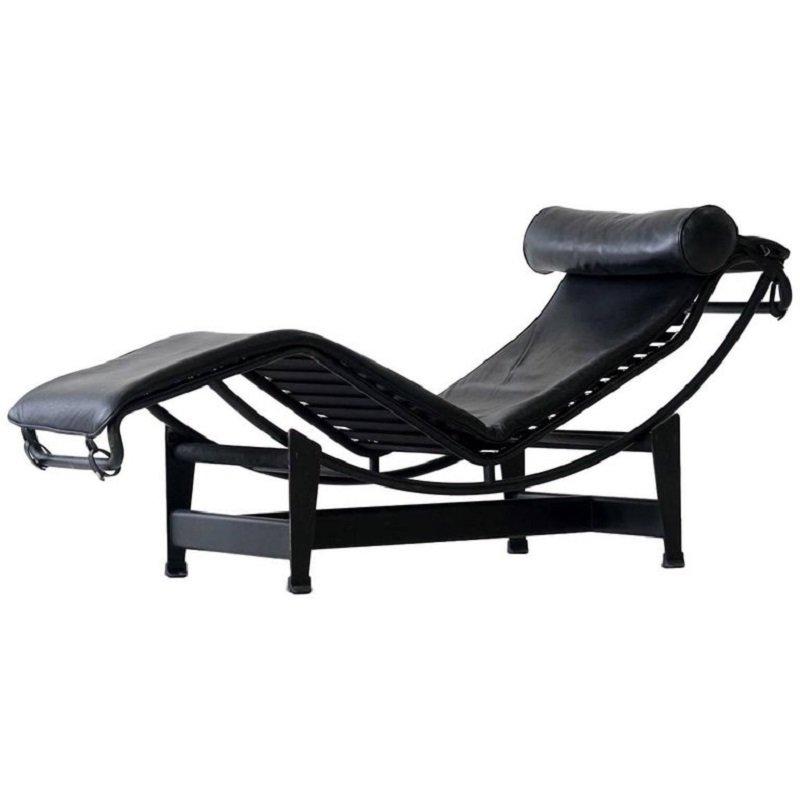 Chaise longue lc4 vintage di le corbusier per cassina in for Chaise longue le corbusier prezzo