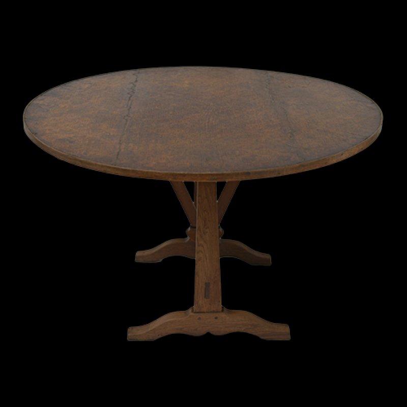 antiker franz sisch weinproben tisch bei pamono kaufen. Black Bedroom Furniture Sets. Home Design Ideas