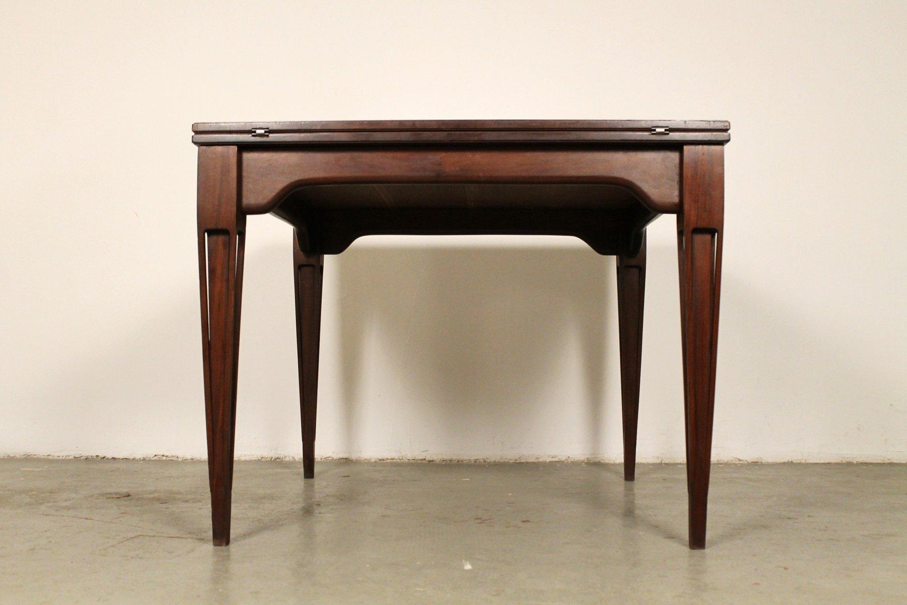 italian wood furniture. Mid-Century Italian Rosewood Extendable Dining Table From Fratelli Proserpio Wood Furniture Y