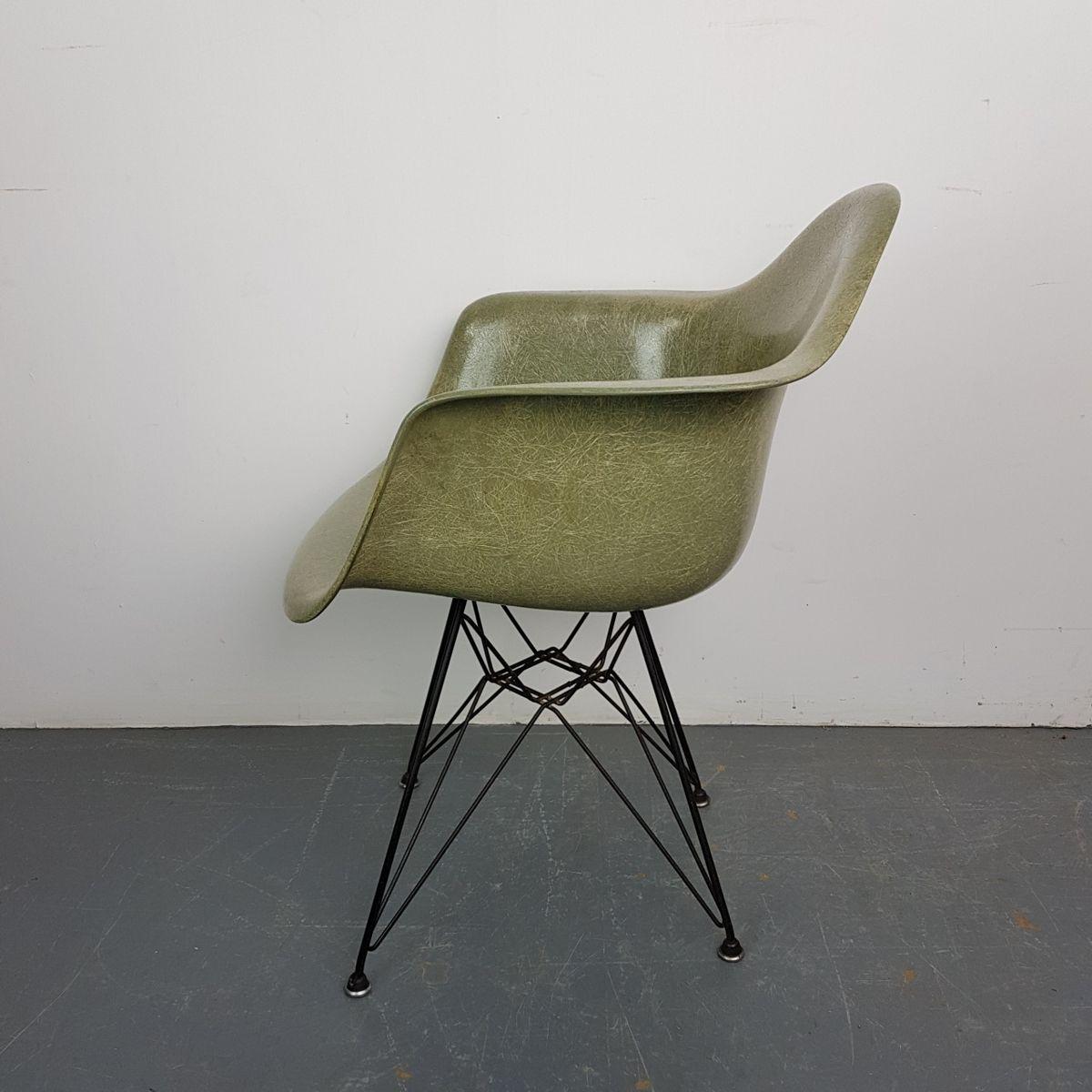 mid century stuhl aus seilkeil in meeresgr n von charles. Black Bedroom Furniture Sets. Home Design Ideas