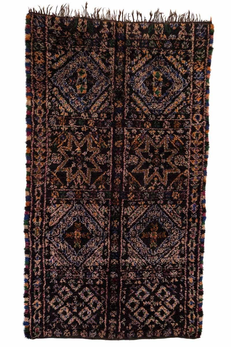 marokkanischer vintage berber teppich von beni mguild 1970er bei pamono kaufen. Black Bedroom Furniture Sets. Home Design Ideas