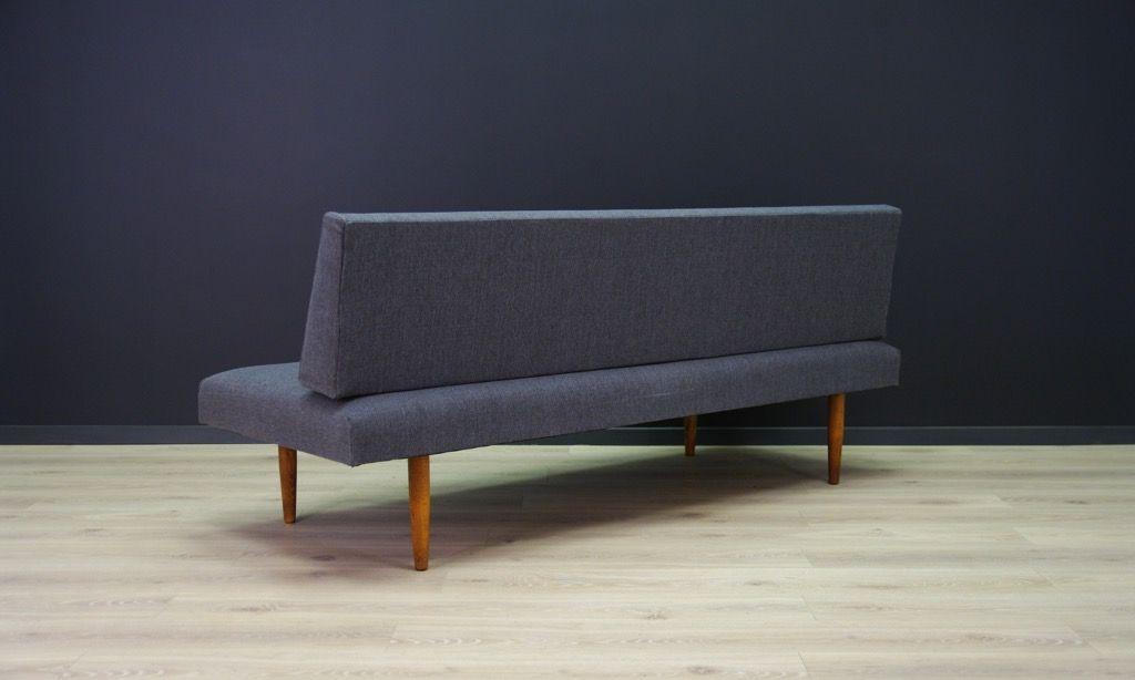 d nisches sofa aus holz mit stoffbezug bei pamono kaufen. Black Bedroom Furniture Sets. Home Design Ideas