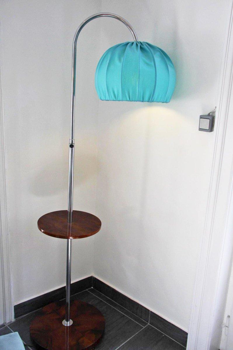 bauhaus stehlampe mit regal bei pamono kaufen. Black Bedroom Furniture Sets. Home Design Ideas