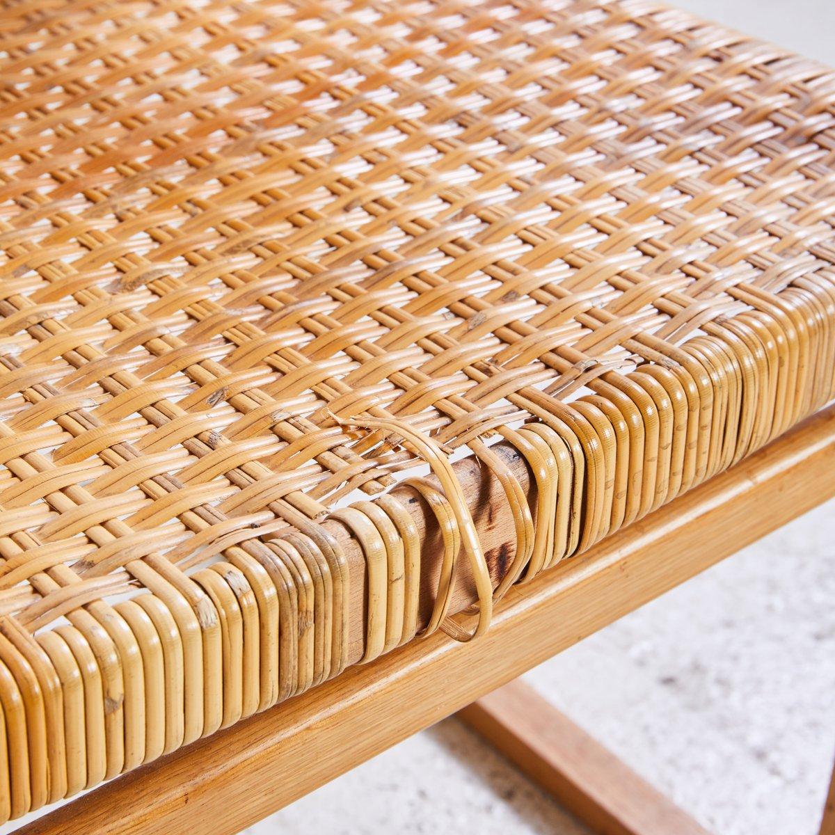 modell bm62 armlehnstuhl aus weiden korbgeflecht von b rge mogensen f r p lauritsen sons. Black Bedroom Furniture Sets. Home Design Ideas