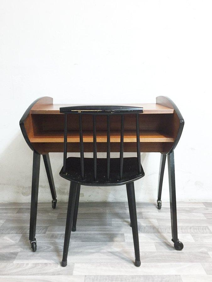 vintage tv table 1960s for sale at pamono. Black Bedroom Furniture Sets. Home Design Ideas