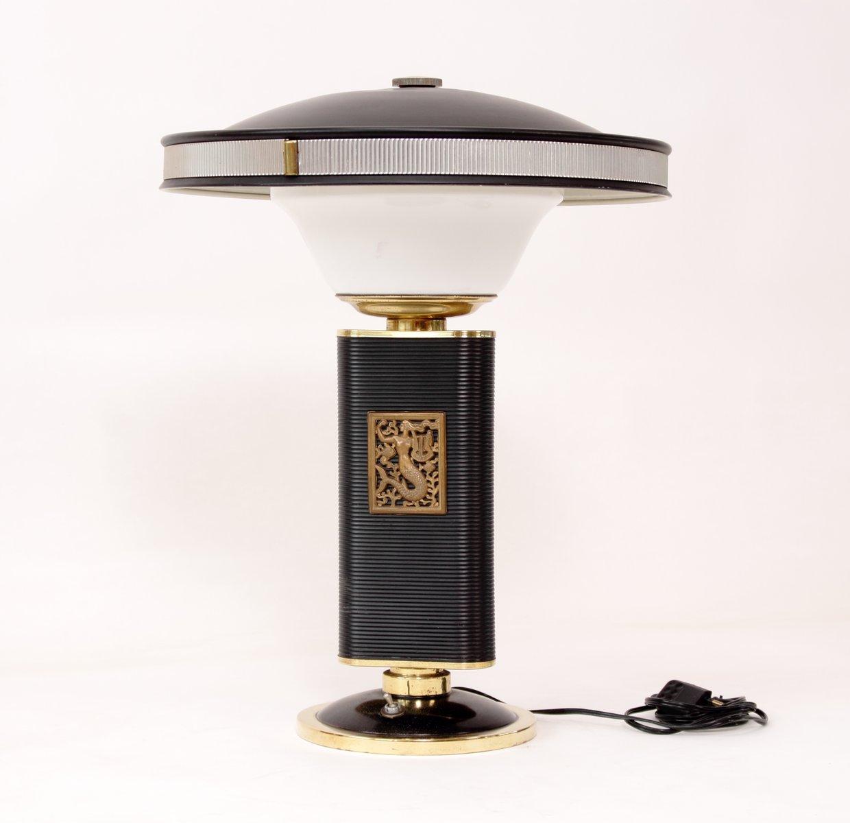 mid century mermaid lampe von eileen gray f r jumo bei pamono kaufen. Black Bedroom Furniture Sets. Home Design Ideas