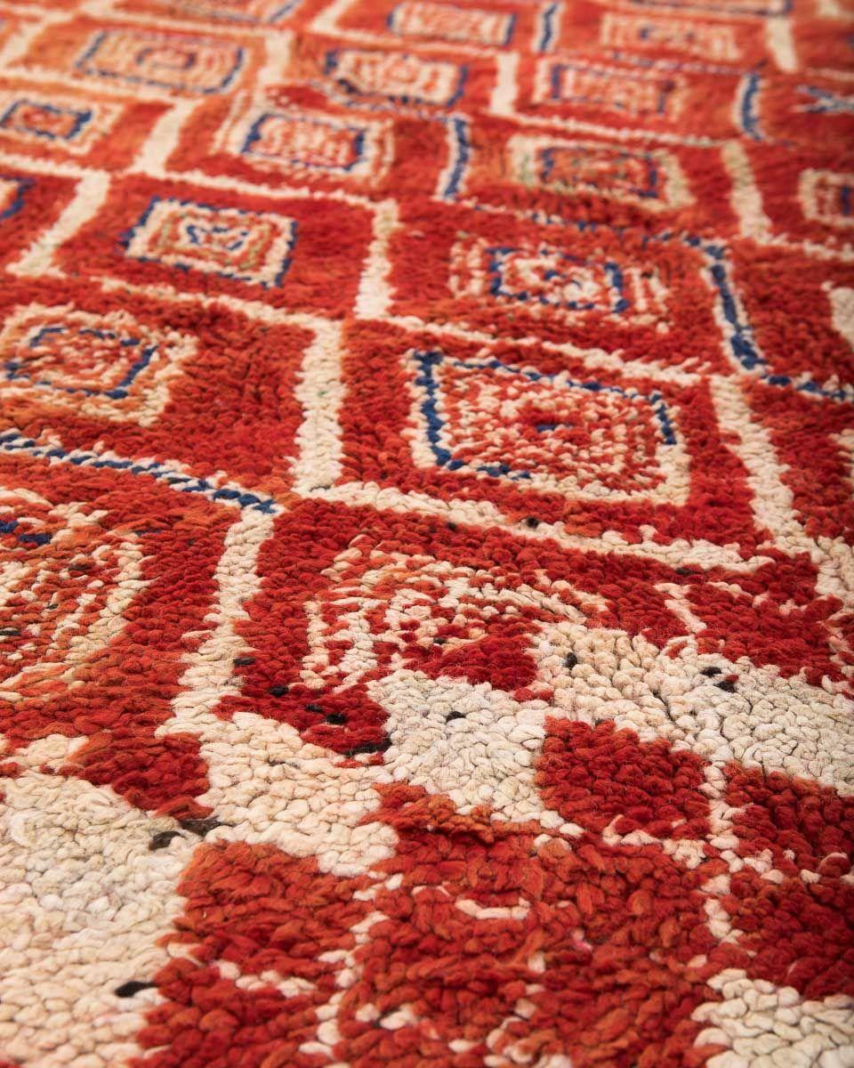 marokkanischer vintage berber teppich von beni mguild 1980er bei pamono kaufen. Black Bedroom Furniture Sets. Home Design Ideas